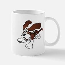 Cartoon Basset Hound Mugs