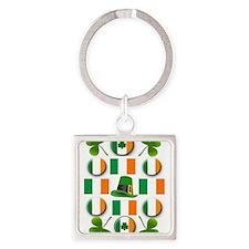 IRISH SHAMROCKS Keychains