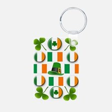 IRISH SHAMROCKS Keychains