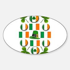 IRISH SHAMROCKS Decal