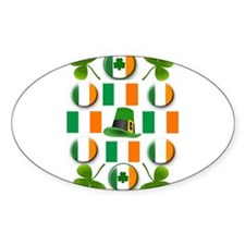 IRISH SHAMROCKS Decal