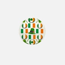 IRISH SHAMROCKS Mini Button