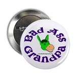 Bad Ass Grandpa Button