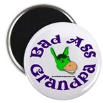 Bad Ass Grandpa Magnet