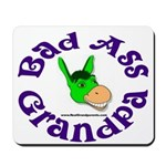 Bad Ass Grandpa Mousepad