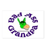 Bad Ass Grandpa Postcards (Package of 8)