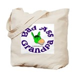 Bad Ass Grandpa Tote Bag