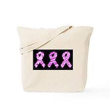 pink ribbon large sdd Tote Bag