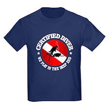Certified Diver (Deep End) T-Shirt