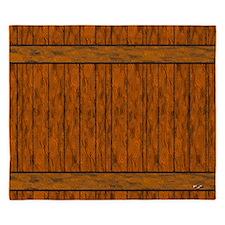 Wood Planks King Duvet