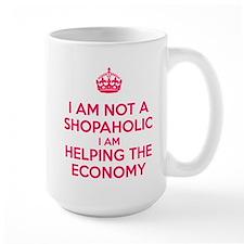 I am not a Shopaholic Mugs