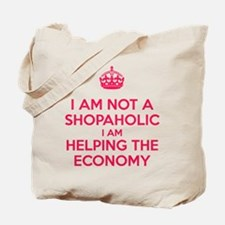 I am not a Shopaholic Tote Bag