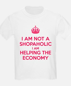 I am not a Shopaholic T-Shirt