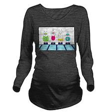 Ready? Long Sleeve Maternity T-Shirt