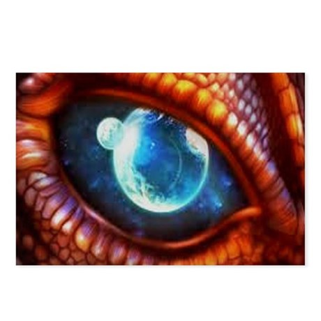 dragon eye 3.0 Postcards (Package of 8)