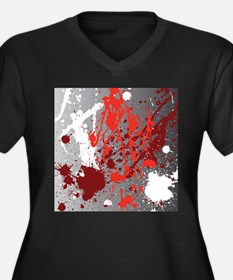 Decorative - Paint - Art Plus Size T-Shirt