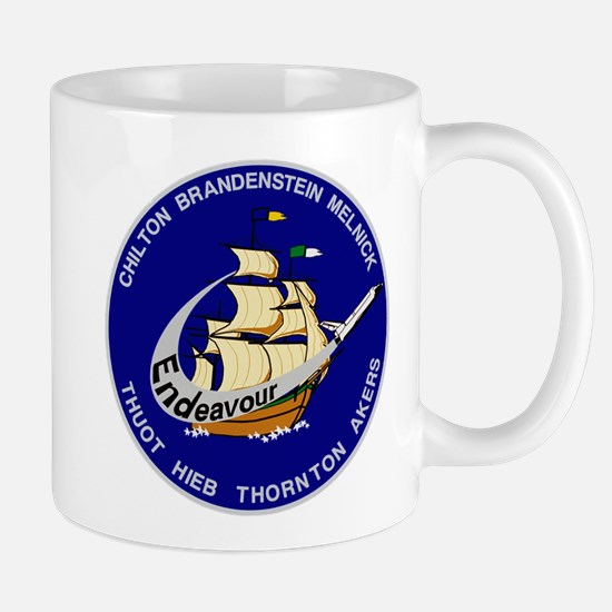 STS 49 OV-105 Endeavour Mug