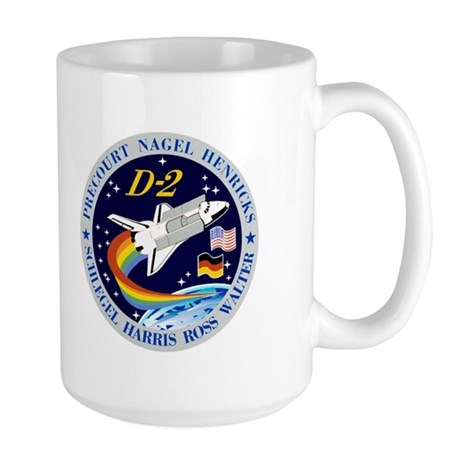STS-55 Columbia OV 102 Large Mug