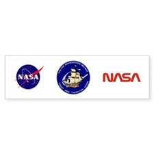 STS 49 OV-105 Endeavour Bumper Bumper Sticker