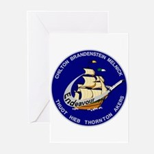 STS 49 OV-105 Endeavour Greeting Cards (Pk of 10)