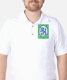 1917 Finland Lion Coat of Arms Postage Stamp T-Shirt