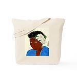 Woman w/Gardenias in Her Hair Tote Bag