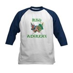 Irish American Unity Kids Baseball Jersey