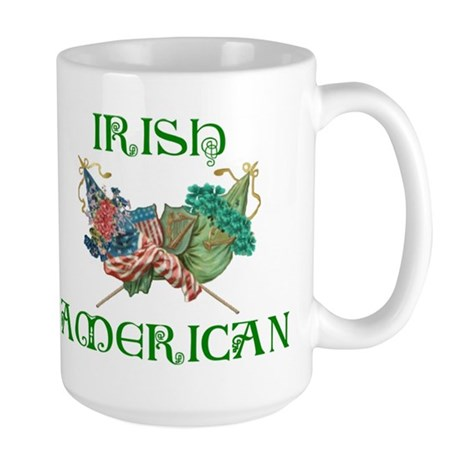 Irish American Unity Large Mug