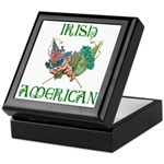 Irish American Unity Keepsake Box