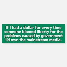 Blaming Liberty Bumper Bumper Bumper Sticker