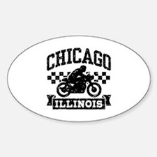 Chicago Motorcycle Decal