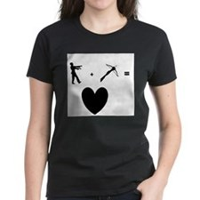 Zombie + Crossbow = Love T-Shirt