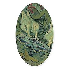 Van Gogh Emperor Moth Decal