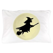 'Flying Witch' Pillow Case