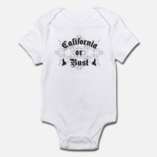 California or Bust Infant Bodysuit