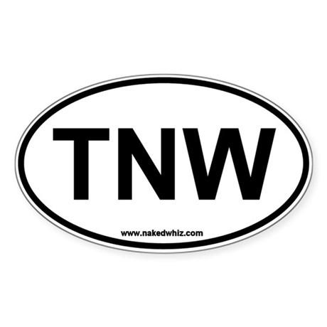 Authentic Naked Whiz Sticker