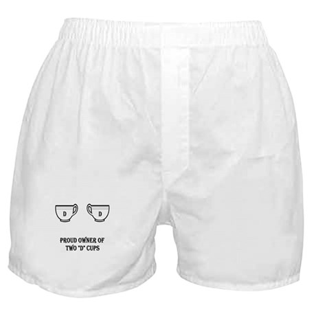 Two D Cups Boxer Shorts