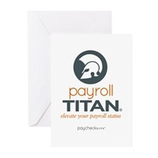 Payroll Titan Greeting Cards (Pk of 10)
