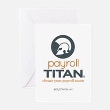 Payroll Titan Greeting Cards (Pk of 10)