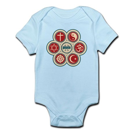 Religious Peace Infant Bodysuit