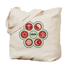 Religious Peace Tote Bag