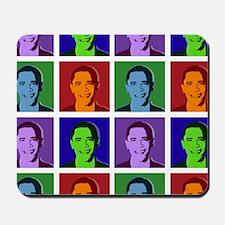 Obama pop art Mousepad