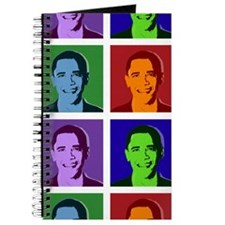Obama pop art Journal