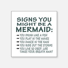 Mermaid Signs Sticker