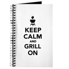 Keep calm and grill on Journal