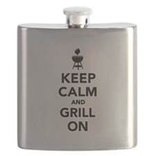 Keep calm and grill on Flask
