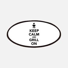 Keep calm and grill on Patches