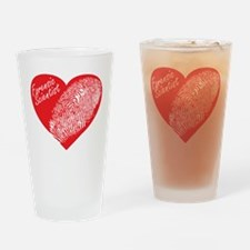 Latent Heart Drinking Glass