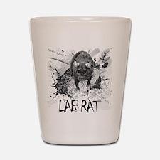 Lab Rat Shot Glass