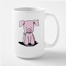 Sittin' Piggie Mug